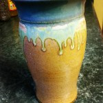 Gift of a vase from the French Broad River