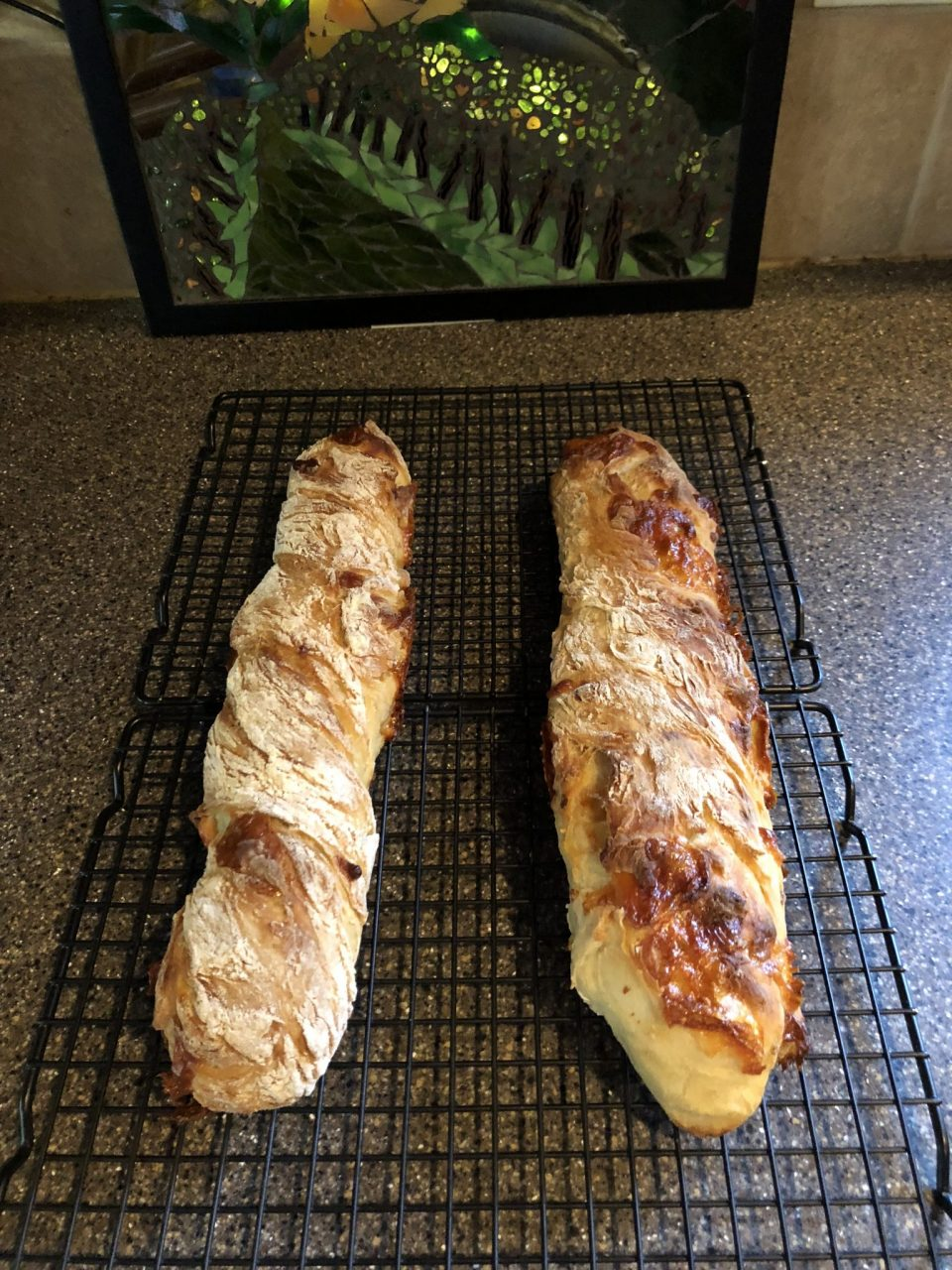 Crusty French Baguette (no knead)