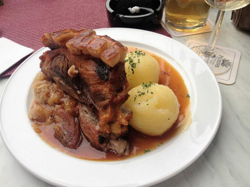 Schäufele, Schaufele, Franconia, grilled Pork shank