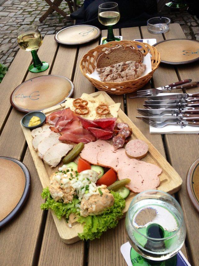 Brotzeit, German lunch meats, Rothenburg