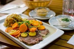 Tafelspitz, Franconian Wedding dinner