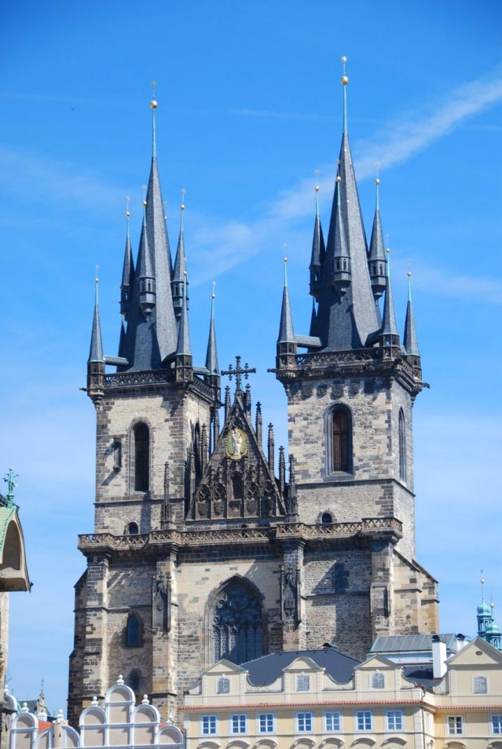Prague ancient churches and cathedrals