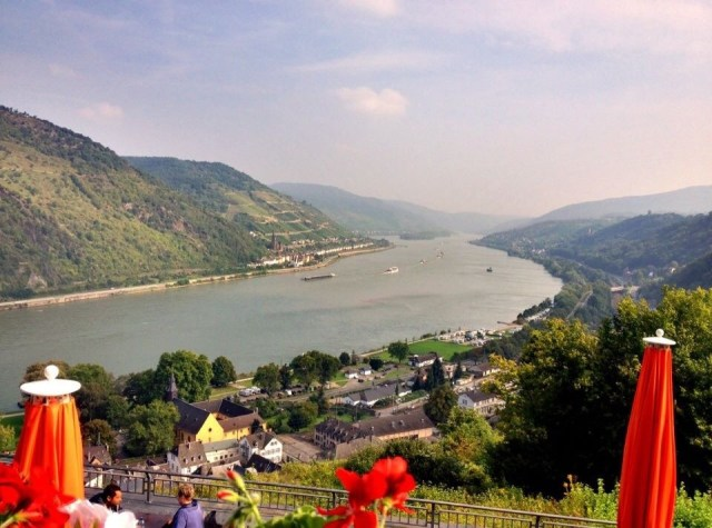 View from Burg Stahleck Bacherach am Rhein, Rhine