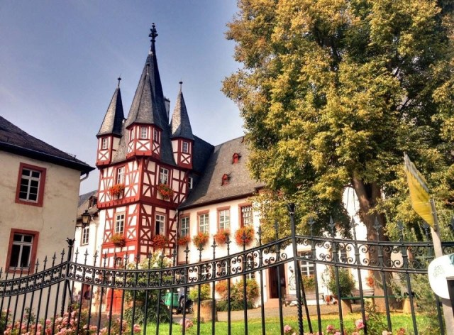 Ruedesheim, German half timbered Style Homes, Fachwerk