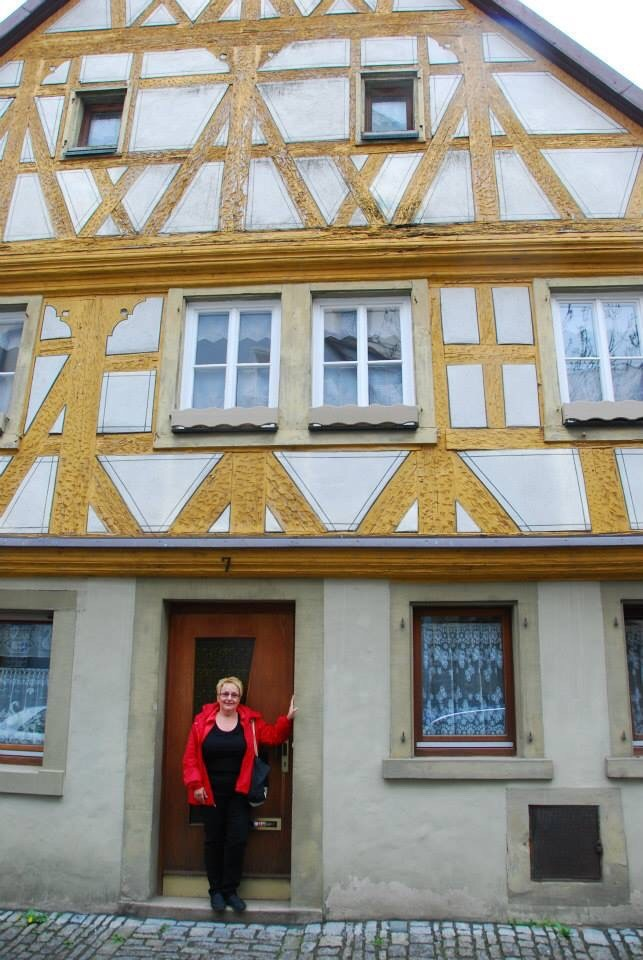My Grandparents Fachwerk or timbered style home in Dettelbach