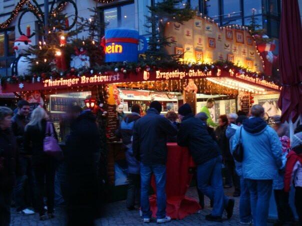 Striezelmarkt in Dresden, Christmas