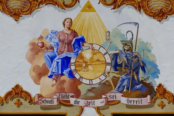 Bavarian, Austrian Facade painting, Lüftmalerei