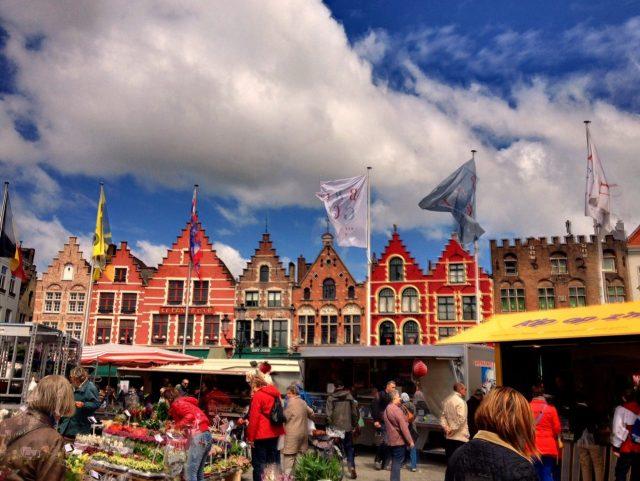 Bruges Market place, Brugge