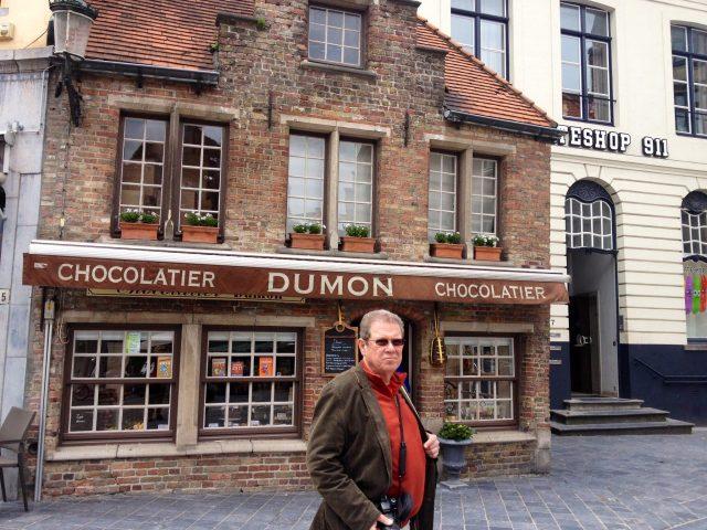 Famous Belgium chocolate