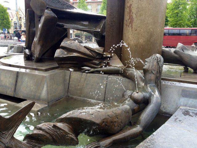 Fountain in Brugge