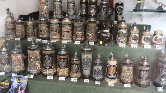 German Bier mugs, Bierstein