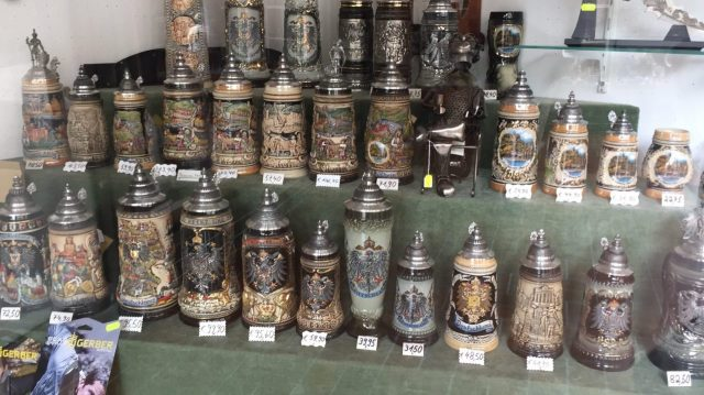 German Bier mugs, Bierstein