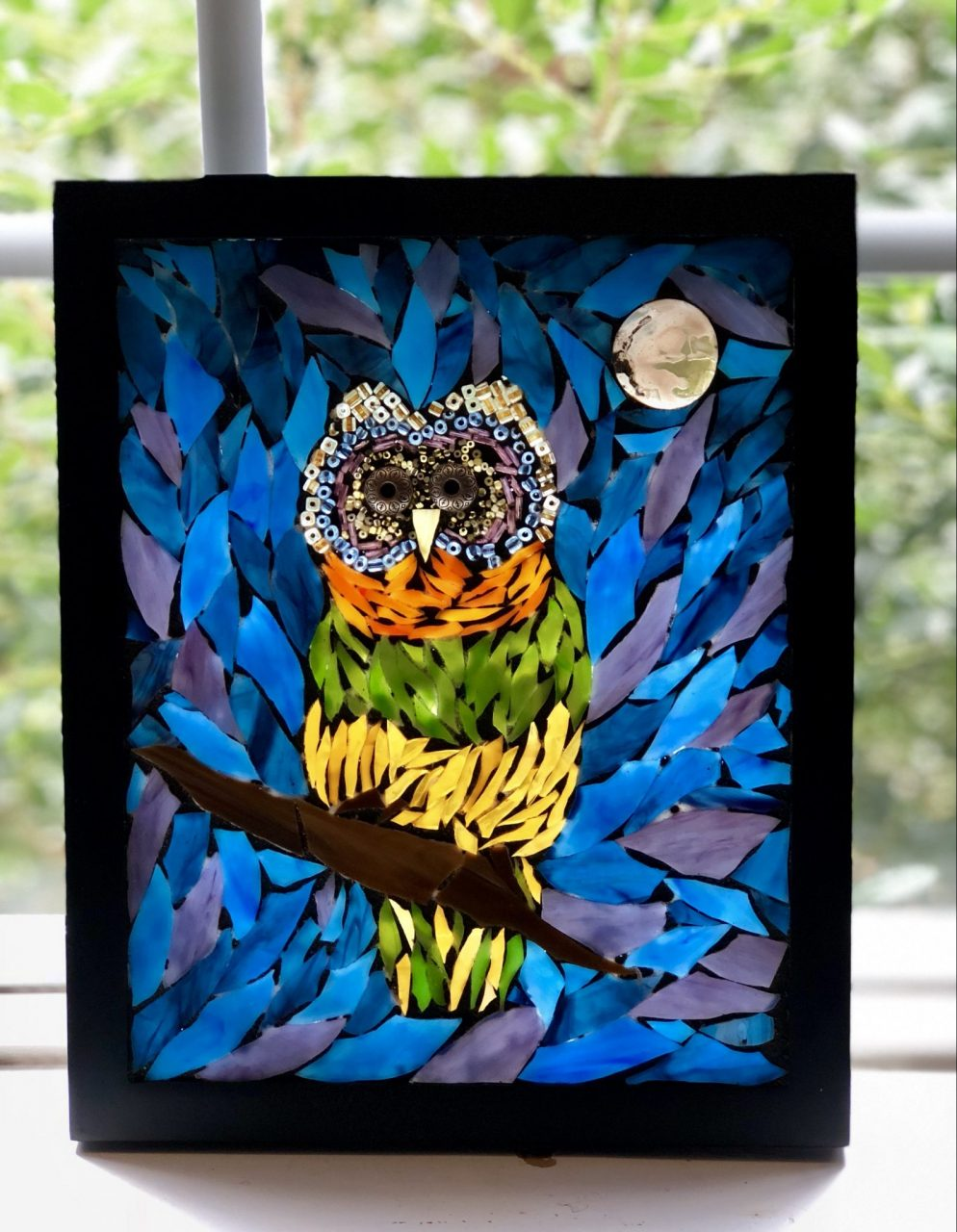 Owl, Mosaic Art