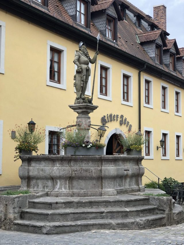 Sommerhausen, Lower Franconia fountain