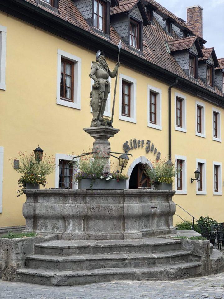Sommerhausen, Lower Franconia fountain