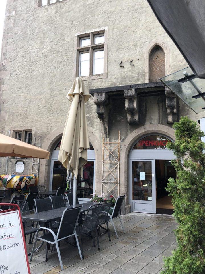 Café in Ochsenfurt, Lower Franconia