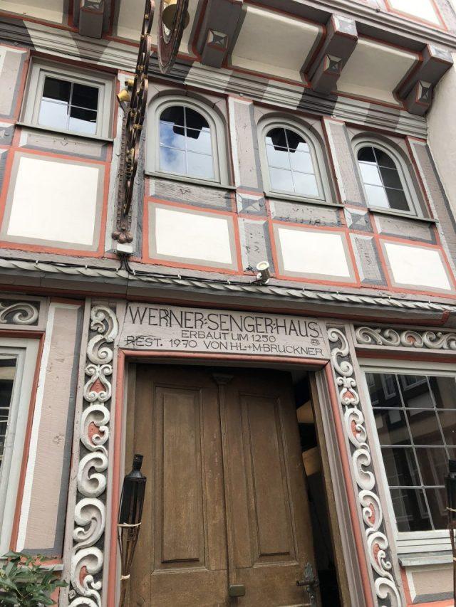 Limburg an der Lahn, Werner Senger Haus