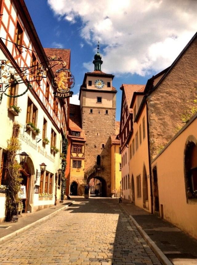 Weisser Turm, Georgengasse, Rothenburg o. T.