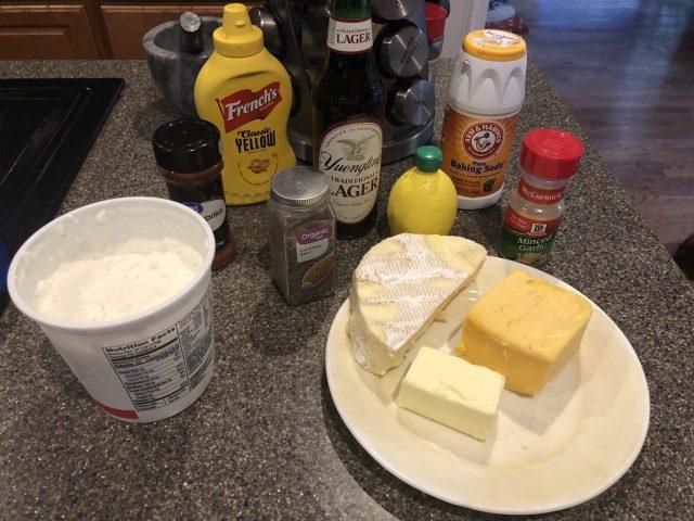 Beer cheese ingredients, Kochkäse