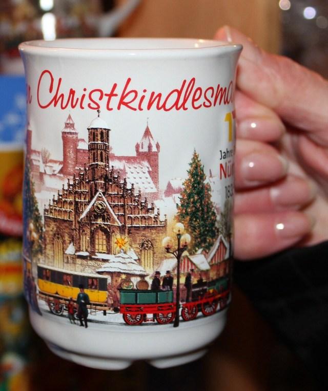 Christmas Gluehwein mug