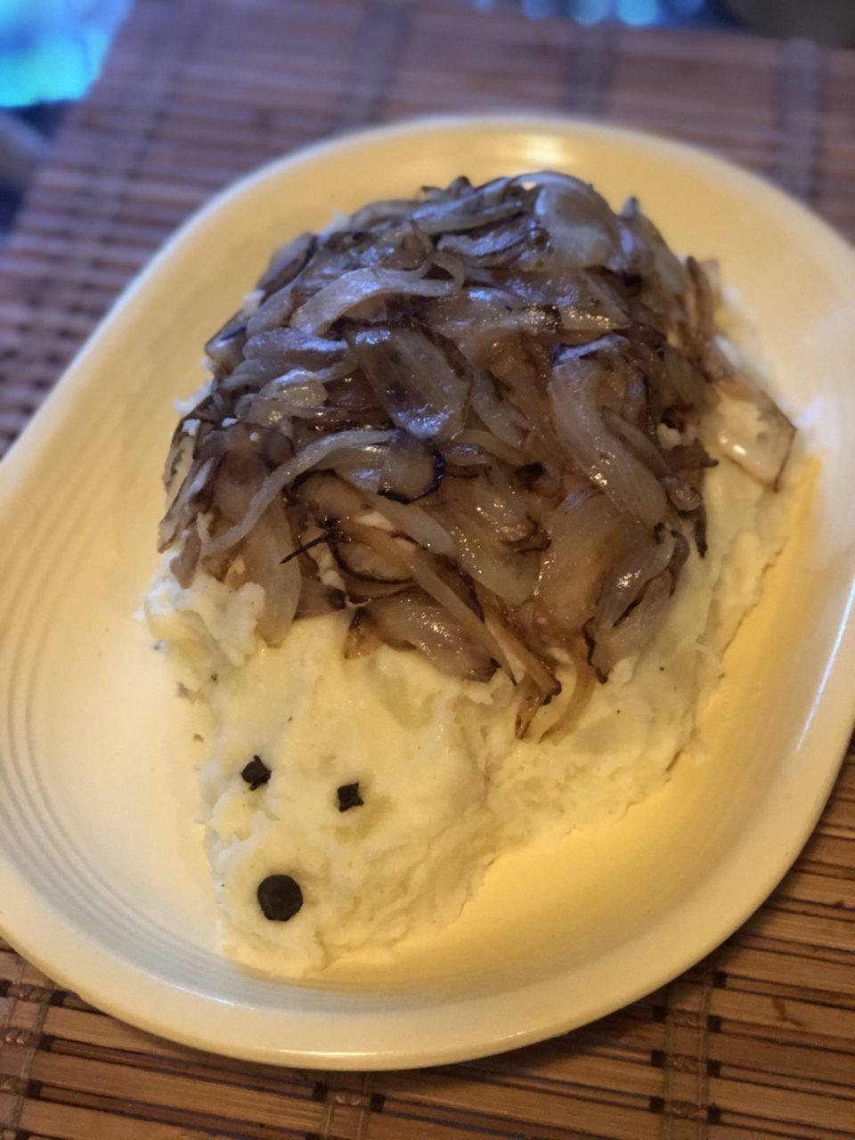 My Mother's Hedgehog mashed Potato