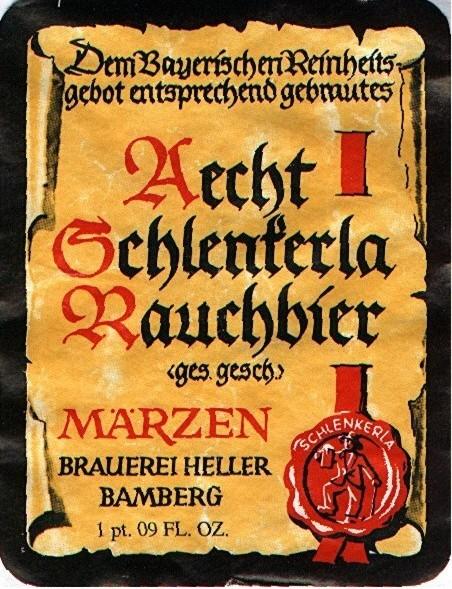 Rauchbier, Bamberg, Schenkerle sign
