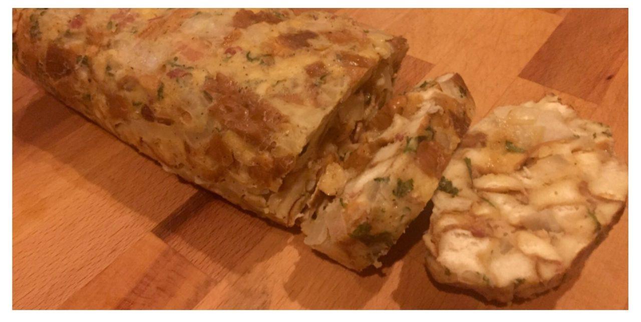 Semmelknödel in Loaf pan, Kastenform
