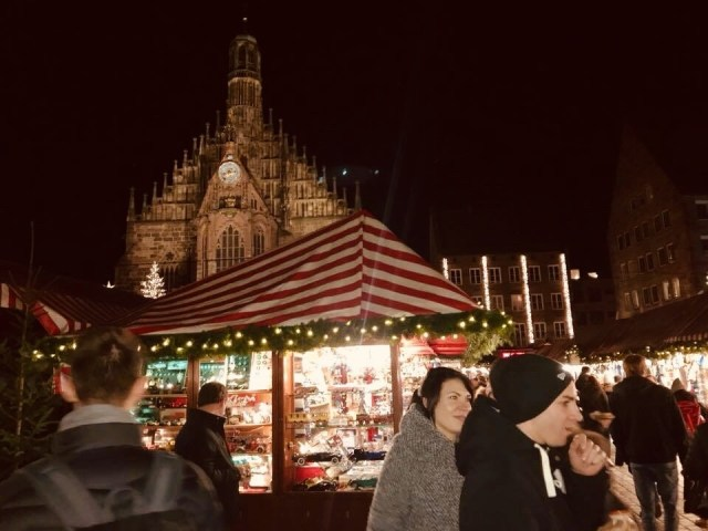 Christmas Booths Nuernberg