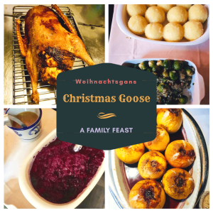 Weihnachtsgans, Baked Goose, Christmas goose