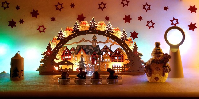 Hartz Schwibbogen Christmas Ornament