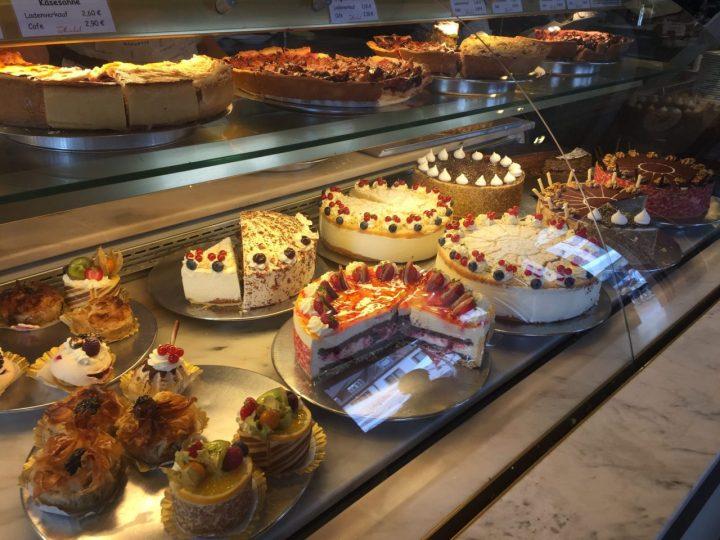 Torten and Pastry. Konditorei