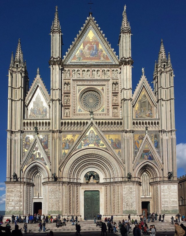 Cathedral Orvieto, Umbria, Northern Italy