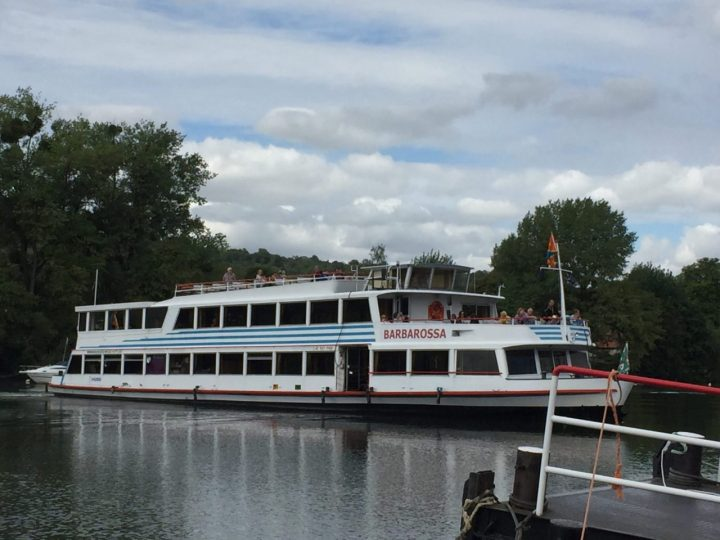 Main Cruise Boat, Barbarossa boat Wuerzburg