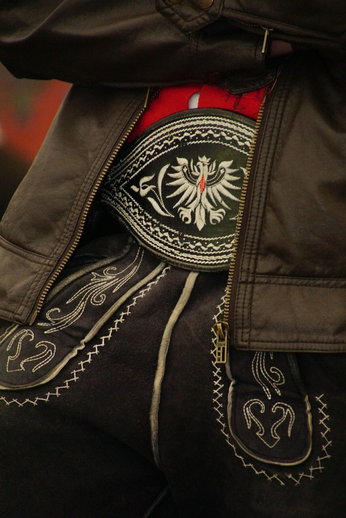 Bavarian stitched Lederhosen