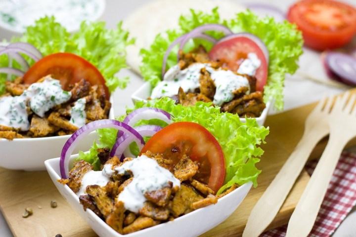 Greek dish, Gyros, Tzatziki sauce