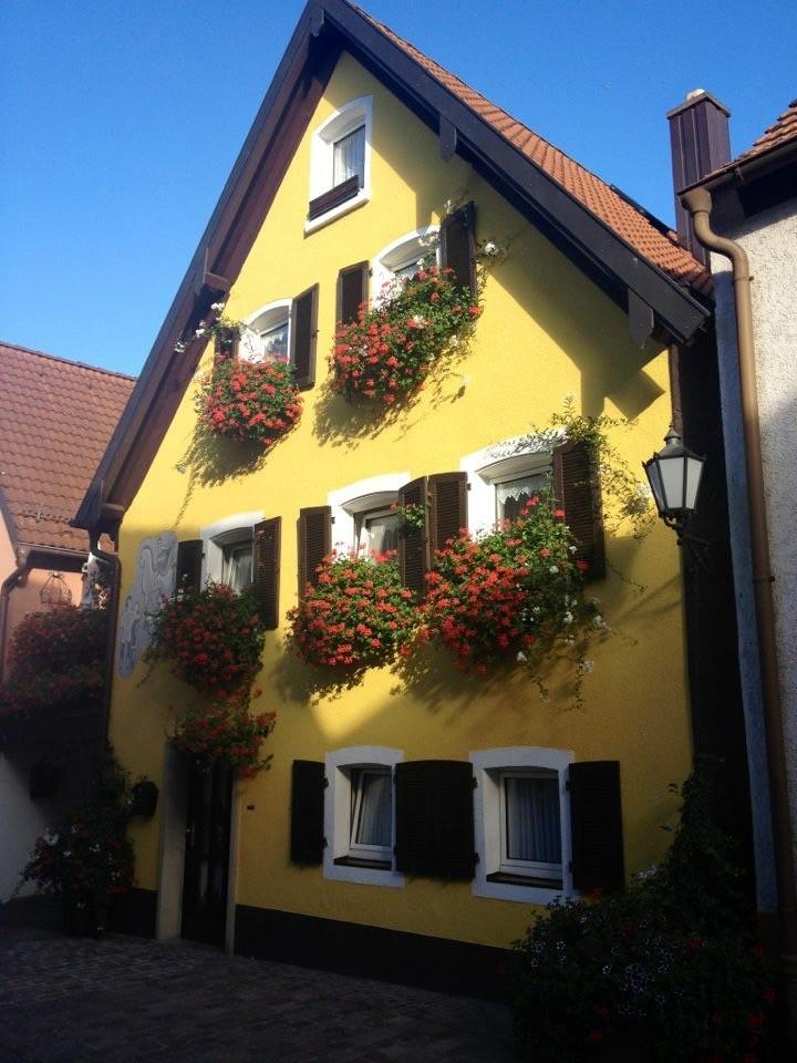 Veitshöchheim Altort beautiful flower boxes