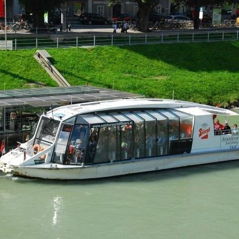 Cruise the Salzach River, Salzburg