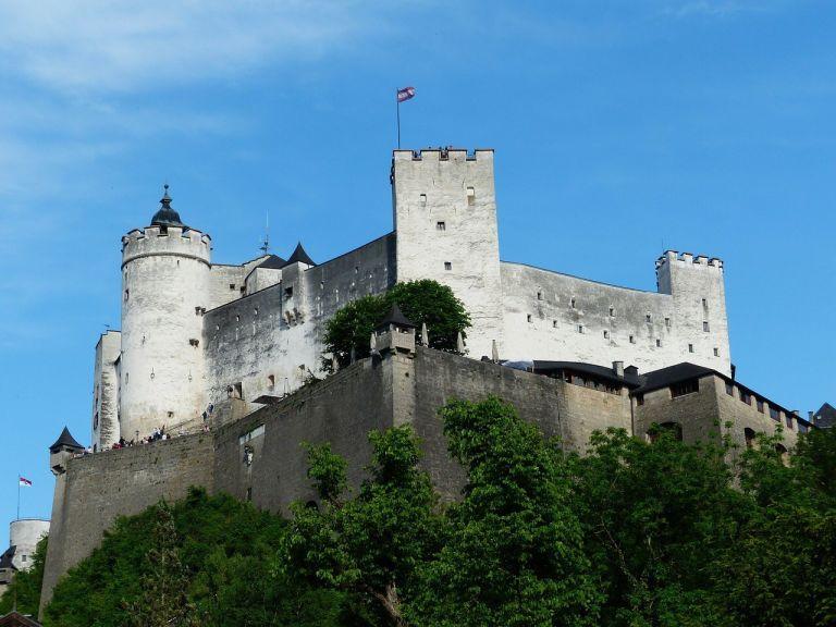 Salzburg, Austria castle