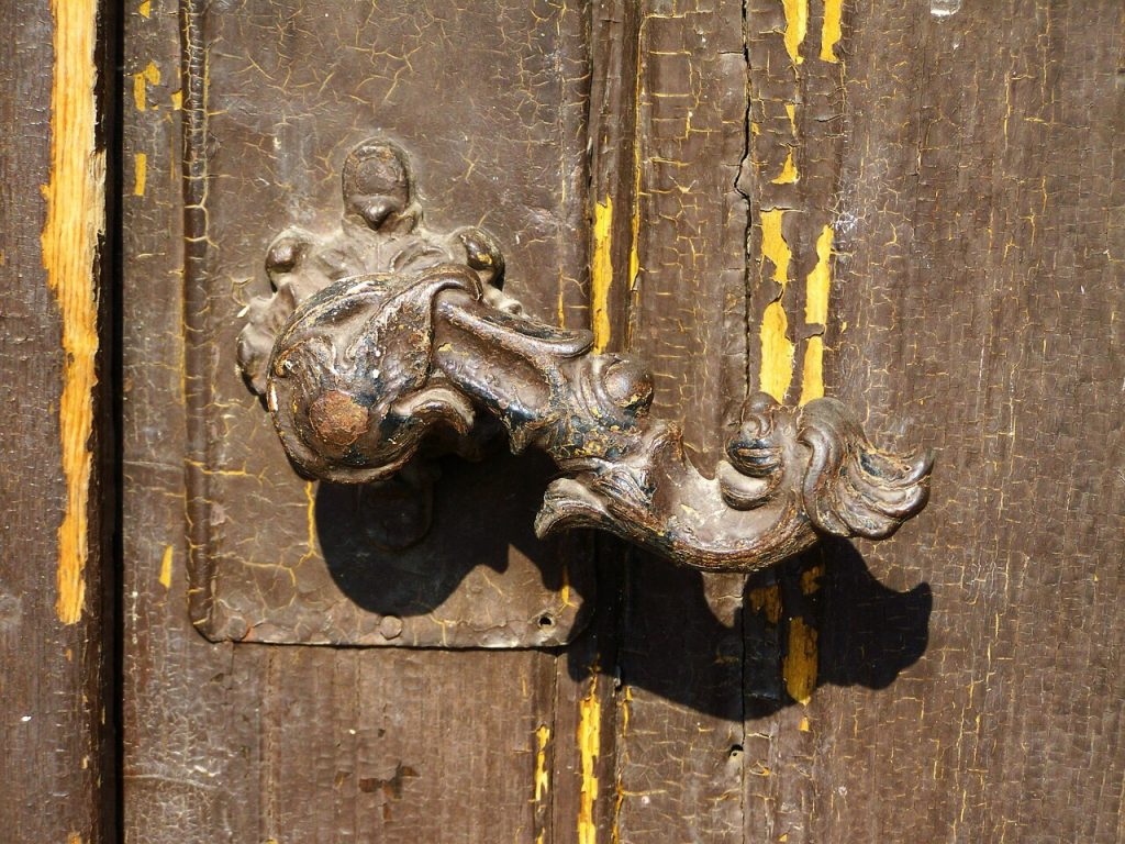 Historic door handles
