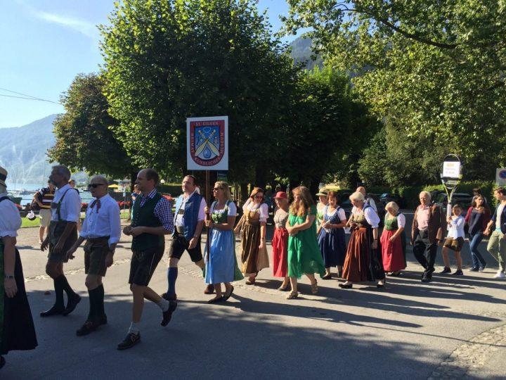 Sankt Gilgen Trachtenzug, Parade