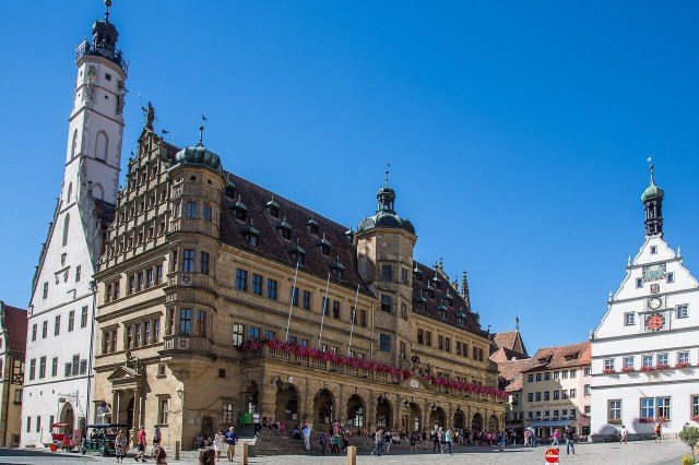 Rothenburg Marktplatz