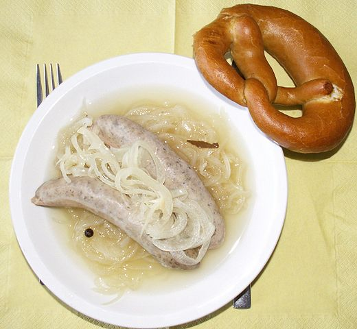 Blaue Zipfel Bratwurst