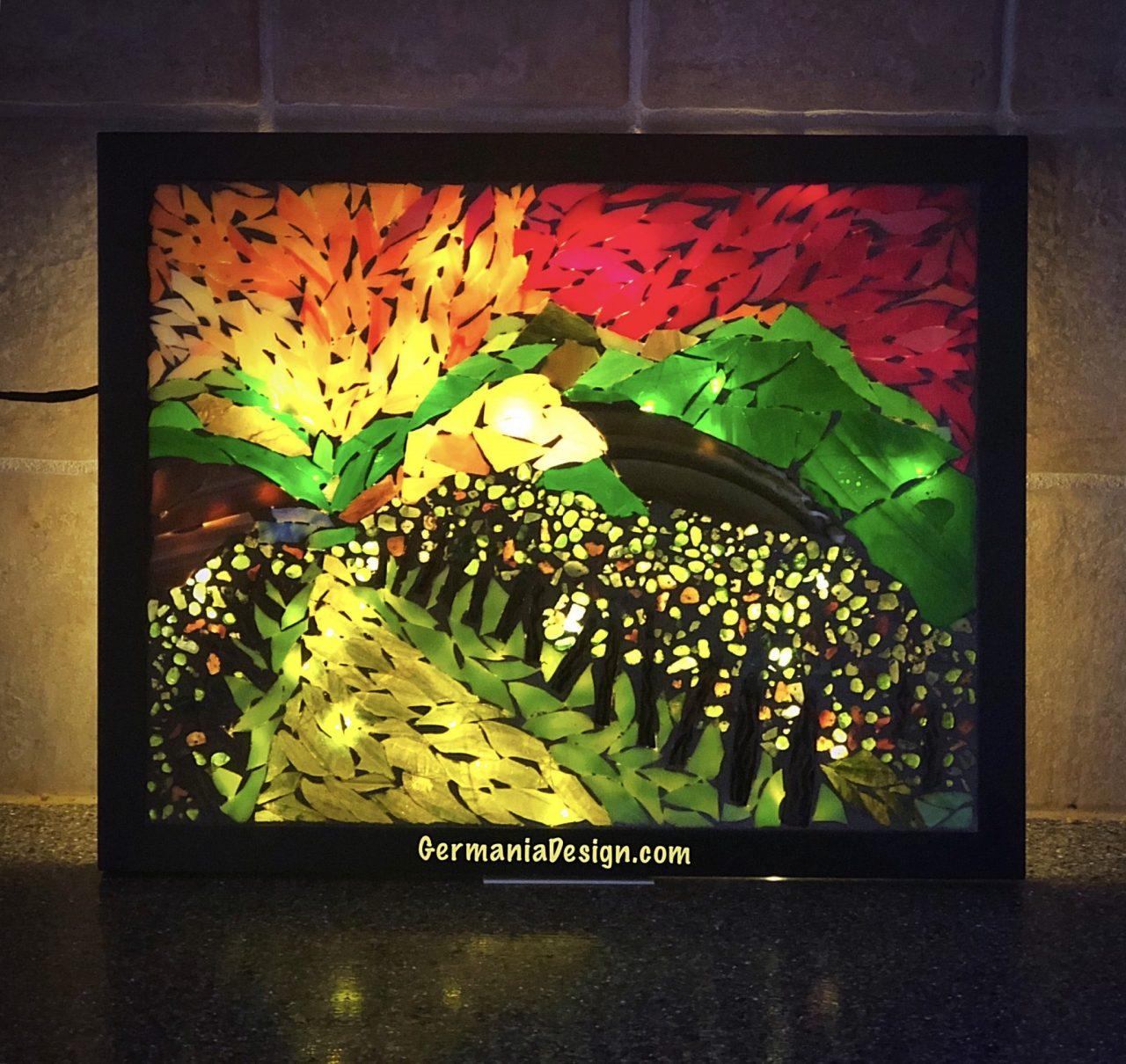 Angie's Glass Mosaic GermaniaDesign.com
