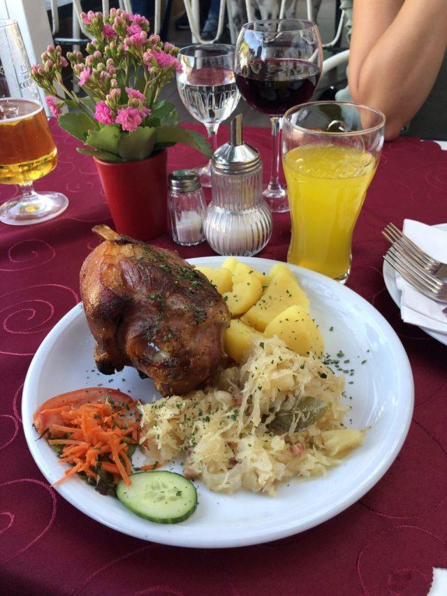 Pork knuckle in Cochem