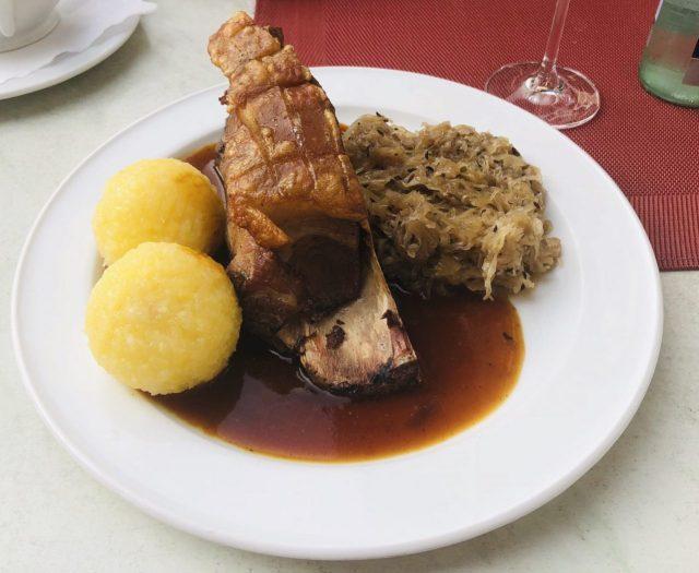 Schaeufele, a Frankonian Dish