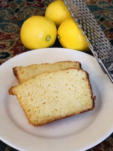 French lemon cake