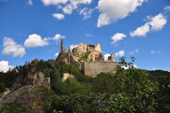 Burg ruin Loewenherz, Duernstein, Austria