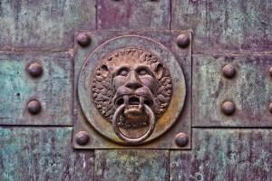 Historic door pull