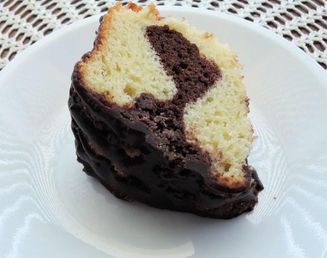 Birthday cake, German Marble Cake, Marmorkuchen