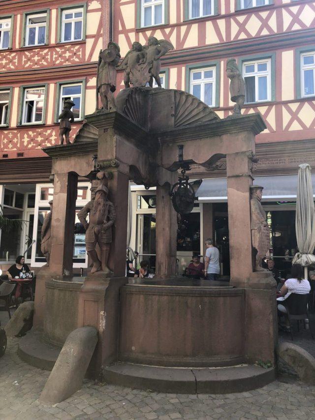 Old Wertheim fountain